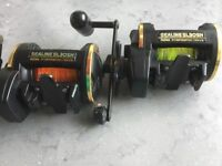 Pair of Daiwa SL3OSH Reels
