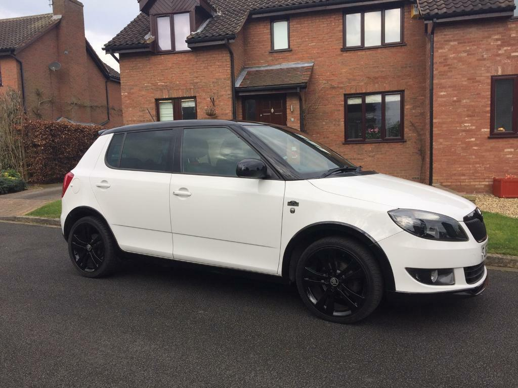 63 plate skoda fabia monte carlo 1 2 tsi in york north. Black Bedroom Furniture Sets. Home Design Ideas