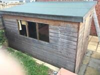 6ft x 9ft shed