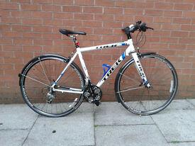 Trek Road Bike with Flat bars