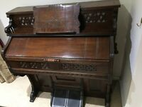 Harmonium for sale. Needham New York. Good condition.