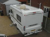 FIAT DUCATO 2.3 DIESEL WITH BESSACARR E560 HOME FROM HOME