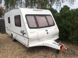 Bailey monarch 2 berth caravan 2004 with motor mover and porch awning