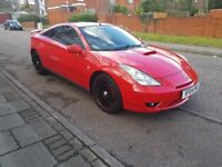 FORSALE2004TOYOTA CELICA 1.8L VVT-I PETROL 6SPEED MANUAL 2DR COUPE FULLY LOADED IN BEAUTIFUL RED.FSH
