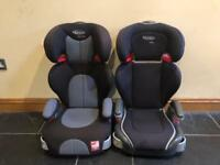 2 Graco Group 2/3 Car Seats