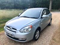 HYUNDAI ACCENT ATLANTIC 1.4, New MOT, ONLY 31K Mileage