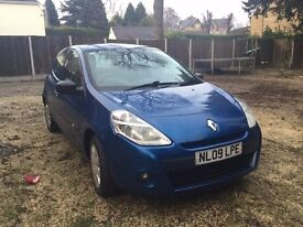 renault clio 09 plate