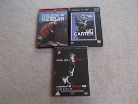 Michael Caine DVDs @ £7.50 for set