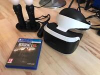 PlayStation Virtual Reality + Resident Evil 7 + Move