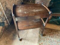 Antique vintage retro furniture dining trolley SOLD SOLD SOLD