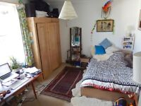 Large double in very roomy beautiful 3 bed flat 1 minute from the sea