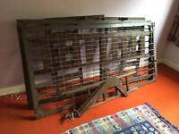 BUNK BED / SOLID WOOD AND METAL