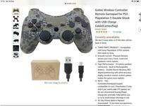 Playstation 3 ps3 wireless controller gollec brand new