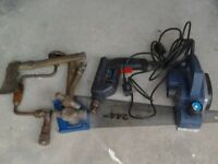 Job lot power and hand tools