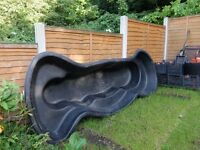 Large Garden Pond heavy duty moulded