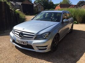 Mecedes C220 Estate AMG Sport Plus with NAV
