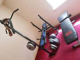 Weight bench lot