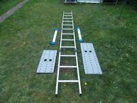 Multi Function Aliminium Folding Ladders