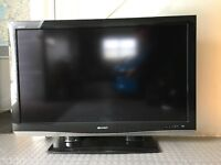 """Sharp LC46XD1E - 46"""" Widescreen Full HD 1080P LCD TV - With Freeview / DVB"""