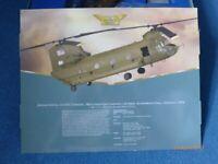 Corgi Model Aircraft AA34201. 1:72 Boeing CH-47C Chinook, American Army