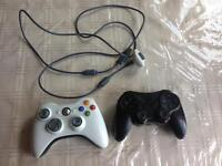 XBOX 360 WIRELESS CONTROLLER WITH WIRE CONNECTOR PS3 WIRELESS GIOTECK CONTROLLER SMETHWICK £15
