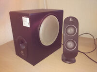 Logitech X230 2.1 speakers with subwoffer