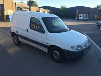 2001 Citroen Berlingo 1.9d Van White Breaking for Spares Wheel Nut