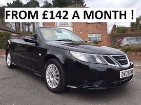 2009 SAAB 93 LINEAR SE 1.9 TID 150 BHP ** CONVERTIBLE ** FINANCE AVAILABLE ** ALL CARDS ACCEPTED