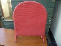 Wicker Fire Guard Shabby Chic Project Delivery Available