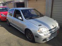 Track prepared Clio 172
