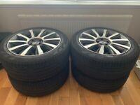 Range Rover Vogue Autobiography 2014 (L405) Original 21'' Four Alloys Wheels With Pirelli tyres