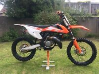 2016 ktm sx 150, 27.5 hours, *IMMACULATE*