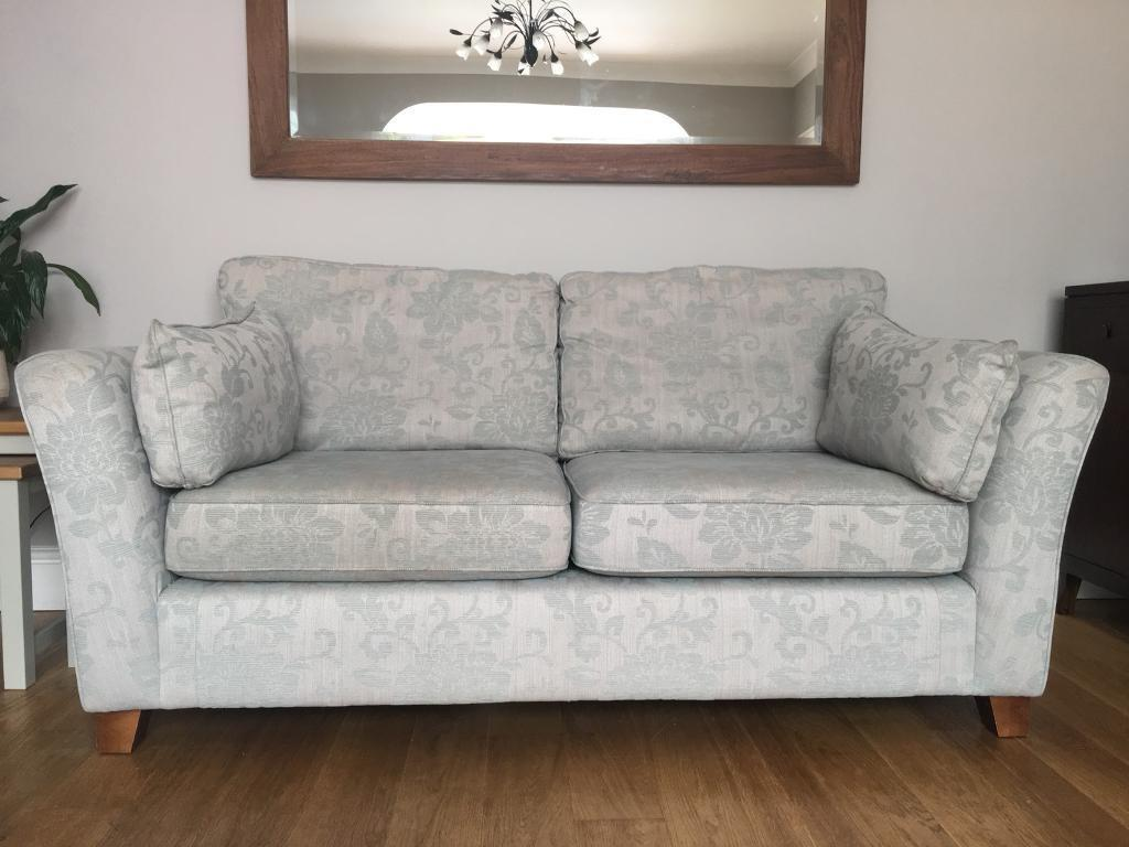 duck egg 2 5 seater sofa professionally scotch guarded in long