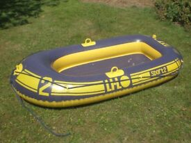 Inflatable dinghy childs - paddling pool - robust material Electric pump