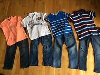 Boys age 6 clothes bundle 50+ items