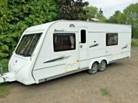 ELDDIS AVANTE CLUB 624 FIXED BED 4 BERTH 08 TWIN AXLE LUXURY