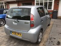 Daihatsu sirion se'1.0 5 door 2006 cheap tax £30 55mpg