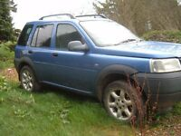 freelander td4 breaking