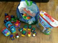 Children's toys cars bricks lego