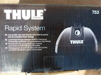 Thule 753 Rapid System Roof Rack Kit with fitting kit 3089