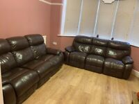 Two Three-seaters sofas