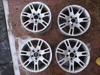 Bmw Msport alloy wheels 17inch