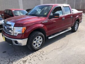 2014 Ford F-150 XLT, Crew Cab, Automatic, Back UP Camera, 4x4