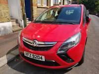 2015 Vauxhall Zafira 1.4 Auto, almost new, 5k miles