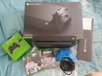 Microsoft Xbox One X 1TB Console with FIFA 18, Call Of Duty: WWII And 2x Controllers