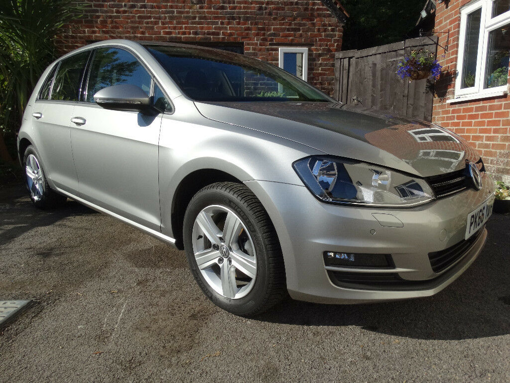 Volkswagen VW Golf MK7 Match 1 6 TDI Silver - Only 7100 Miles From New,  Recalls Done | in Waterlooville, Hampshire | Gumtree