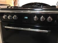 Leisure Gourmet Classic (black) Double Oven, dual fuel, electric oven, gas hob