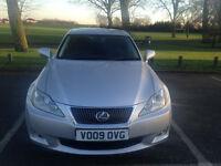 1 Owner Lexus IS 220d (2009) 2.2 TD SE DIESEL 6-SpeedService History Hpi Clear - P/x welcome