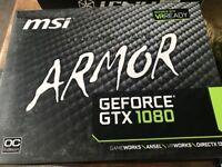 MSI GeForce GTX 1080 Armor 8G OC Graphics Card, 8GB £140 CHEAPER than RETAIL/BRAND NEW
