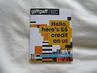 New Giffgaff SIMS Card, great international rates
